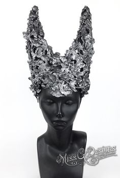 HORNED HEADRESS by M