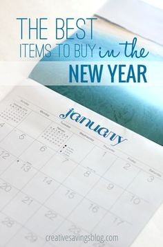 From after-Christmas sales to enticing New Year discounts, these 5 items are ones I consistently buy in January when prices are ultra-low. You`ll definitely want to grab a few of them now, because they won`t be cheaper during any other time of year!