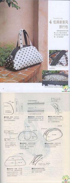 Sewing Pouch Craft Ideas 49 Ideas For 2019 Handbag Patterns, Bag Patterns To Sew, Sewing Patterns, Diy Bags Purses, Diy Purse, Patchwork Bags, Quilted Bag, Handbag Tutorial, Diy Sac