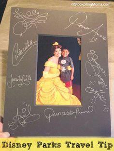 Autograph idea for Disney World