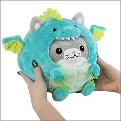 Undercover Kitty in Dragon #squishable #plush #disguise #kitty