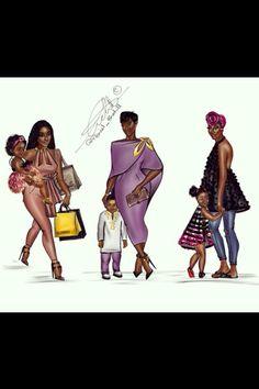 African ladies!