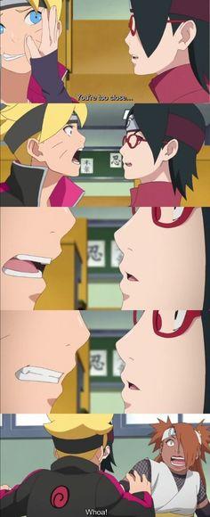 Boruto and Sarada's First Kiss! Episode 38 ❤️ OMG ❤️❤️❤️