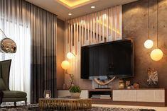 Tv Unit Interior Design, Flat Interior, Interior Design Companies, Home Interior, Bedroom Closet Design, Bedroom Designs, Lcd Wall Design, Living Room Wall Designs, Modern Tv Wall Units