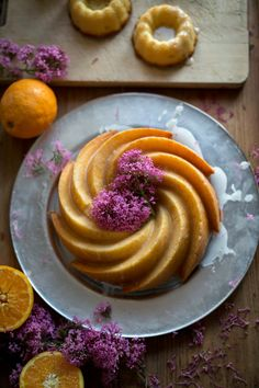 Orange & Almond Sponge Cake >> The Carolina Kitchen