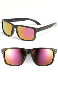 KW 'Envoy' Mirrored Sunglasses
