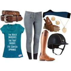"""""""Spiced Tee"""" by equestrian-dreaming on Polyvore"""