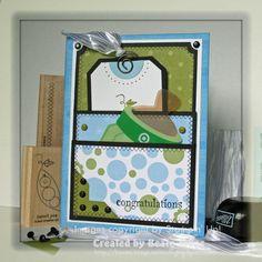 DIY Cards DIY Paper Craft: DIY Double Pocket card Tutorial