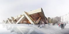 Gallery of See All 1,715 Entries to the Guggenheim Helsinki Competition Online - 88