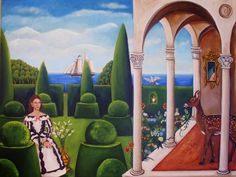 Cathderals Of Our Own -New Painting 18x24, original painting by artist Catherine Nolin | DailyPainters.com