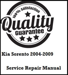 Kia Amanti 2004 2005 2006 2007 2008 This a complete