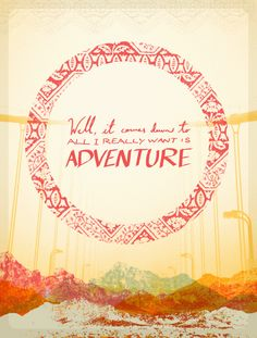 Adventure by Cody Small, via Behance