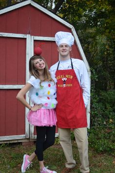 DIY: Cupcake and Baker Costume   Lace and Fringe