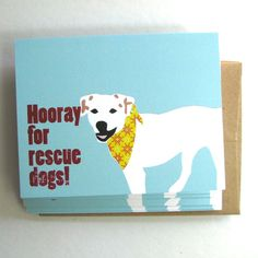Rescue Dog 6pack by lafamiliagreen on Etsy