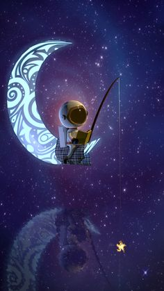 ArtStation - lil' Cosmonaut and the Stars, Mark Pigason Planets Wallpaper, Wallpaper Space, Galaxy Wallpaper, Cartoon Wallpaper, Iphone Wallpaper, Astronaut Drawing, Astronaut Wallpaper, Space Artwork, Chalk Drawings