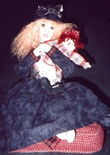 Cloth Doll Patterns by Sherry Goshon