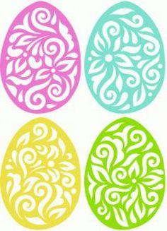 Letölthető mintaívek, sablonok húsvétra - Színes Ötletek Blog
