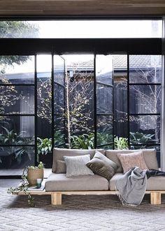 GlobeWest Mika Loft Sofa Styling: Julia Green | Photography: Derek Swalwell  House Renovations,
