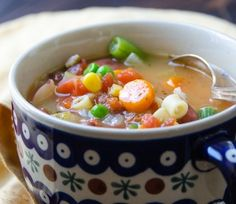 Make a whole pot of minestrone in under an hour!