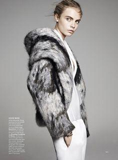Cara in American Vogue