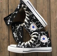Items similar to Custom Dancing Skeleton Painted Converse, Dancing Skeleton Handpainted Shoes, Custom Dancing Skeleton Painted Sneakers, Boyfriend Gifts on Etsy Custom Converse, Custom Sneakers, Custom Shoes, Kids Converse, Converse All Star, Converse Chuck Taylor, Converse Shoes, Painted Converse, Painted Sneakers