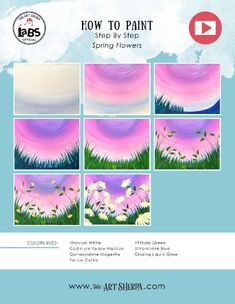 Acrylic Painting Inspiration, Canvas Painting Tutorials, Simple Acrylic Paintings, Acrylic Painting Canvas, Small Canvas Art, Mini Canvas Art, Big Canvas, Daisy Painting, Spring Painting