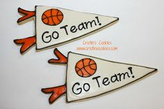 Cristin's Cookies: Basketball Cookies For The Tall Kids