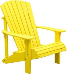 Deluxe Adirondack Chair | Yoder Woodcrafters