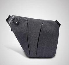 Black Single Shoulder Crossbody Bag