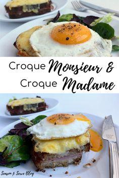 Croque Monsieur & Croque Madame | Brunch Recipes | Breakfast Recipes | French Brunch | Season & Serve Blog Brunch Recipes, Breakfast Recipes, French Sandwich, Sandwiches, Tasty, Healthy Recipes, Blog, Croque Monsieur, Healthy Eating Recipes
