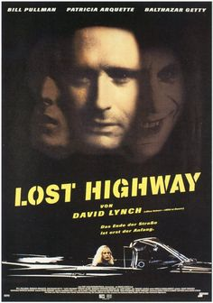 Lost Highway [] http://www.imdb.com/title/tt0116922/?ref_=fn_al_tt_1 [] directed by #DavidLynch http://en.wikipedia.org/wiki/David_Lynch [] theatrical trailer ▶ http://www.youtube.com/watch?v=1nKjO9QCSic
