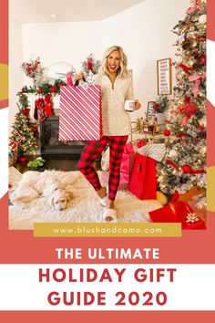 I'm so excited to share with you my ultimate holiday gift guide for 2020! From gifts for new moms to kitchen gadgets you need, you can find everything here! Enjoy! #holidaygiftguide #christmasgifts #christmasgiftideas