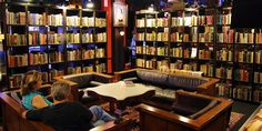 Sip wine while browsing through thousands of used and classic book a the romantic Battery Park Book Exchange  Champagne Bar in the Grove Arcade. Find 80 wines by the glass, coffee specials and 20,000 used books for sale!