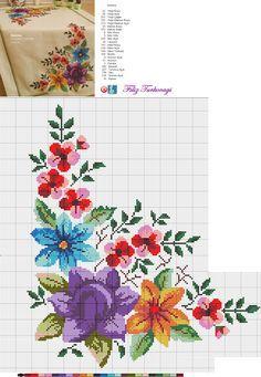Bahçede kullanılan örtülerimizi yedeklememiz gerekiyor :) Designed and stitched by Filiz Türkocağı...