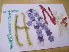 hand made thank you cards