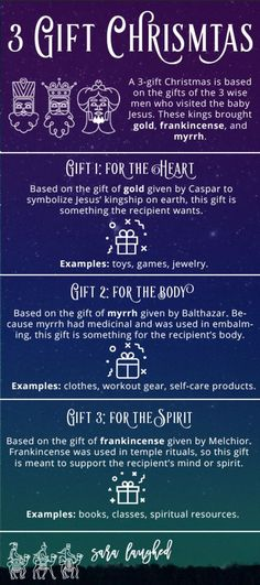 How We're Doing a 3 Gift Christmas — Gifts and Holidays