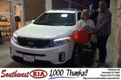 #HappyBirthday to Lynn Self from Mauricio Pena at Southwest KIA Rockwall!