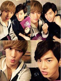 Takuya and Lee jae joon
