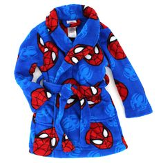 Spider-Man Boys Fleece Bathrobe Robe (Toddler/Little Kid) Fashion Kids, 10 Year Old Girls Room, Miles Morales Spiderman, Bloom Fashion, Frozen Kids, Boys Underwear, Man Swimming, Baby Boy Outfits, Toddler Boys
