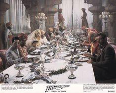 Kate Capshaw, Julian Glover, Amrish Puri, Paul Freeman, Steven Spielberg, Harrison Ford, Indiana Jones, River Phoenix