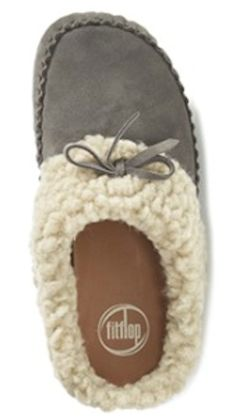 cozy faux shearling slide on slippers http://rstyle.me/n/tv8qzr9te