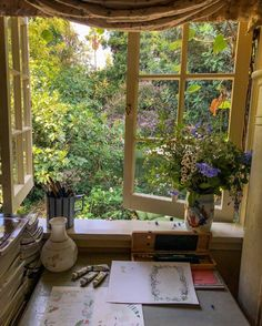 Home Interior Design — A cozy spot to work on some art - All About Decoration My New Room, My Room, Aesthetic Rooms, Aesthetic Plants, Nature Aesthetic, Dream Rooms, Dream Bedroom, Home Interior Design, My Dream Home