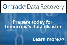Ontrack Data Recovery™ is the world leader in data recovery services and data recovery software offering the fastest, most convenient and cost-effective solutions to clients who have experienced data loss.