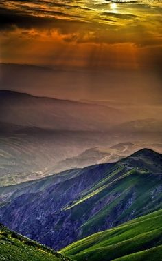 thepaintedbench:   Chimgan Mountains, Uzbekistan  #colour #nature #magic