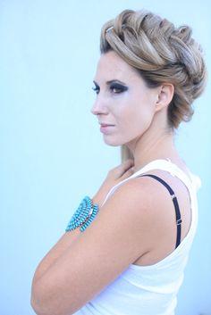 Dutch Fishtail Braid by Melanie and Make Up by Savannah at Salon Zen