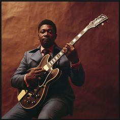 B.B. King photographed by Peter Amft, 1969
