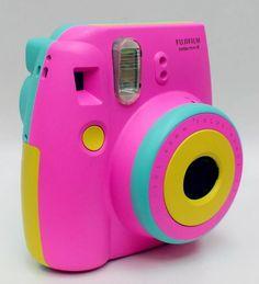 Instax Mini Case, Polaroid Instax Mini, Fujifilm Instax Mini, Fujifilm Instant Camera, Polaroid Camera Case, Cute Camera, Camera Art, Camara Fujifilm, Camera Painting