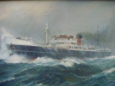 MV Rochester Castle by Frank Henry Mason