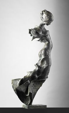 Bronze sculpture by Swedish artist Peter Mandl