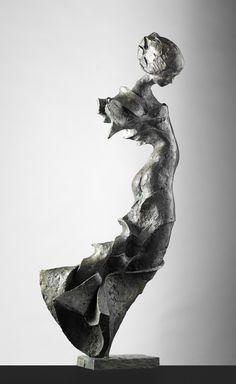 Bronze sculpture by Swedish artist Peter Mandl